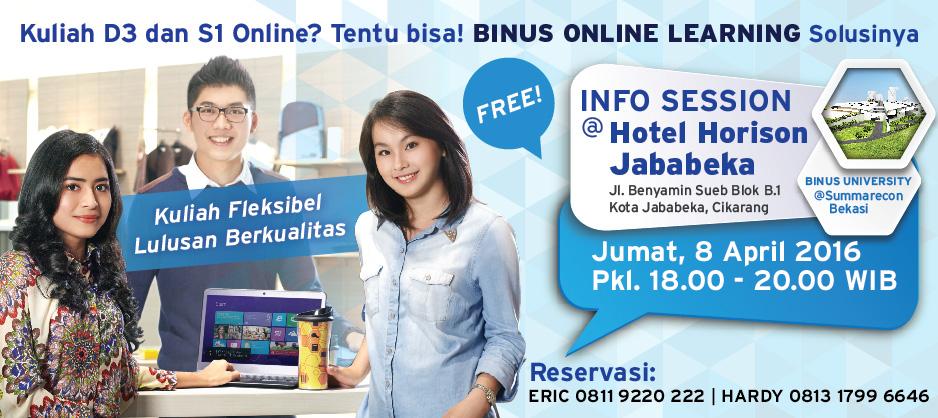 BINUS UNIVERSITY @Summarecon Bekasi Perkuliahan September 2016